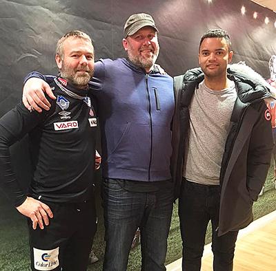 Frank Mathiesen, Adin Brown og Sten Grytebust