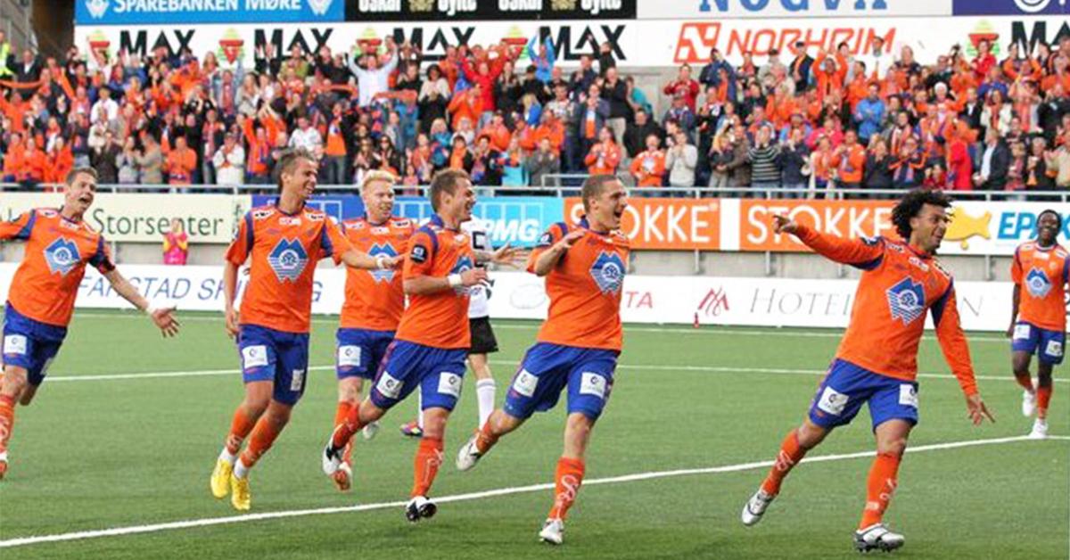 Bilde av Michael Barrantes scorer i kvartfinalen mot Rosenborg 2